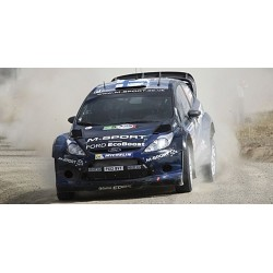 Ford Fiesta RS WRC 6 Rallye Mexique 2014 Evans Barritt Minichamps 151140806