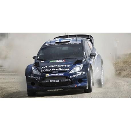Ford Fiesta RS WRC 6 Rallye Mexique 2014 Evans Barritt Minichamps 151140806