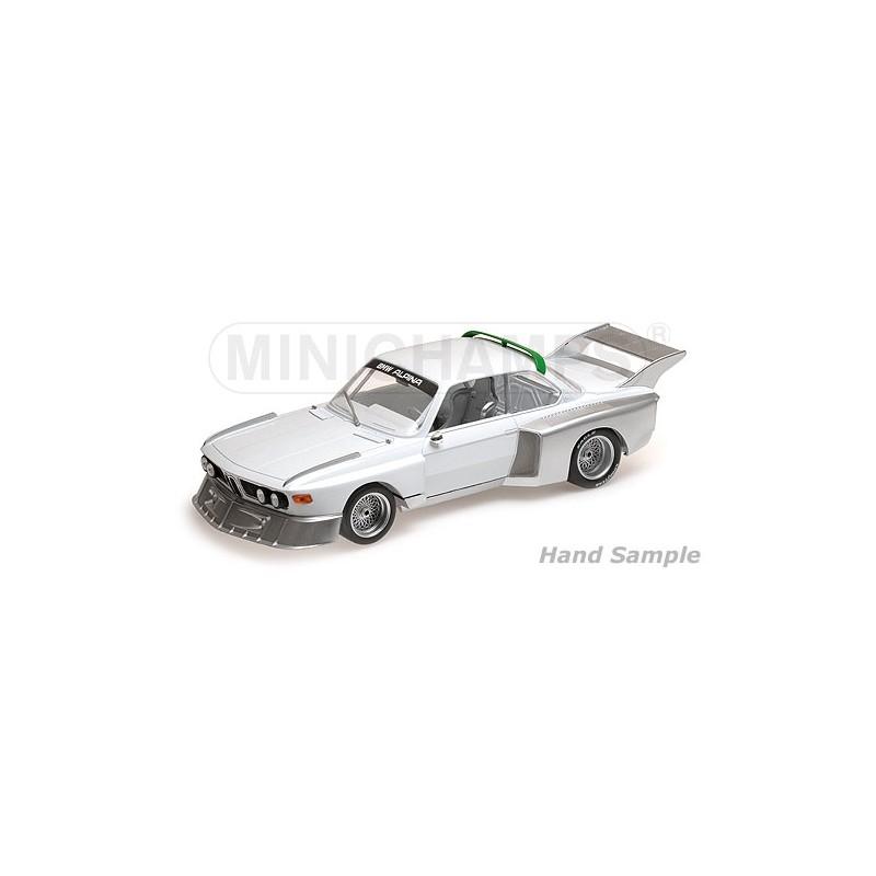 Bmwplain: BMW 3.5 CSL 1976 Plain Body Version White Minichamps