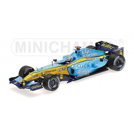 Renault R25 WC 2005 Fernando Alonso Minichamps 436050005