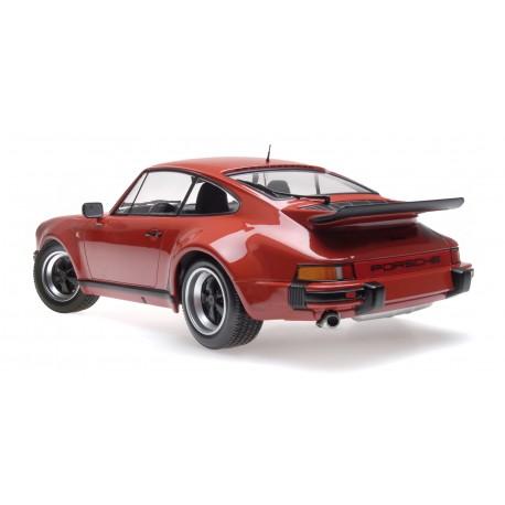 Porsche 911 Turbo 1977 Peru Red Minichamps 125066106