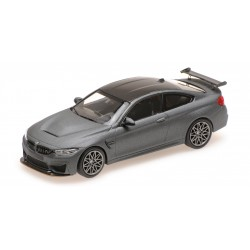 BMW M4 GTS 2016 Matt Grey with Grey wheels Minichamps 410025225