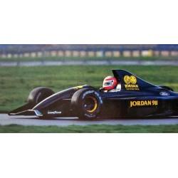 Jordan Ford 911 F1 Test Silverstone 1990 John Watson Minichamps 410910099