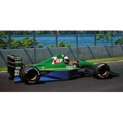 Jordan Ford 191 F1 Canada 1991 Andrea De Cesaris Minichamps 410910033