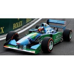 Benetton Ford B194 F1 Belgique Demonstration Run 2017 Mick Schumacher Minichamps 517941705