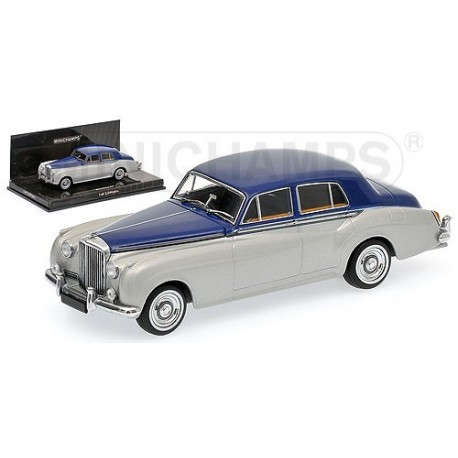 Bentley S2 1960 Bleue Argent Minichamps 436139950