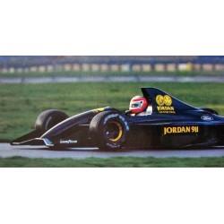 Jordan Ford 911 F1 Test Silverstone 1990 John Watson Minichamps 110910099