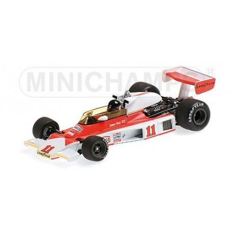 McLaren Ford M23 WC 1976 James Hunt Minichamps 436760011