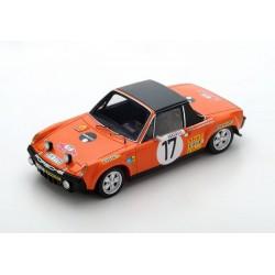 Porsche 914/6 17 Rallye Monte Carlo 1971 Andersson Thorszelius Spark S5584