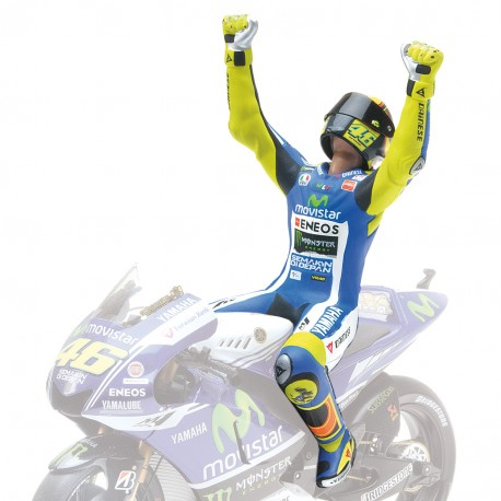 Figurine 1/12 Valentino Rossi Winner Australian Moto GP 2014 Minichamps 312140146