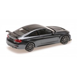 BMW M4 GTS 2016 Grise avec jantes vertes Minichamps 410025224