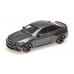 BMW M2 2016 Grey Metallic Minichamps 410026106