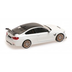 BMW M4 GTS 2016 White with Orange wheels Minichamps 410025226