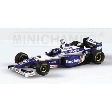 Williams Renault FW18 WC 1996 Damon Hill Minichamps 436960005