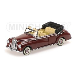 Mercedes-Benz 300 Cabriolet W186 1952 Bordeau Minichamps 437032131