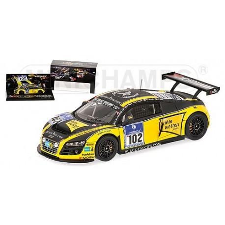 Audi R8 LMS 102 24 Heures du Nurburgring 2010 Minichamps 437101912