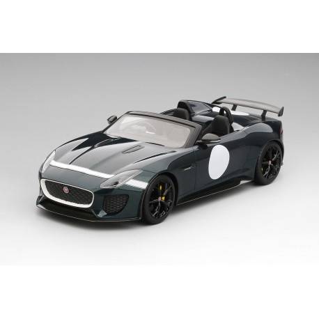 Jaguar F-Type Project 7 verte Truescale TS0033