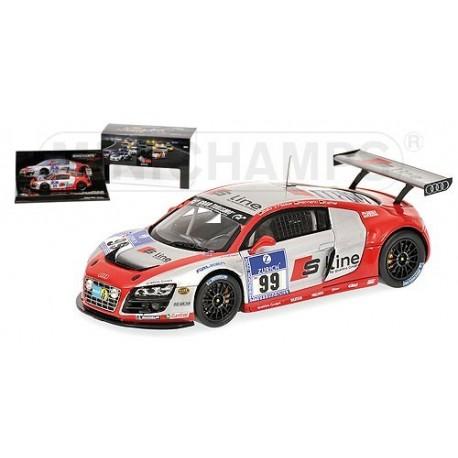 Audi R8 LMS 99 24 Heures du Nurburgring 2010 Minichamps 437101999