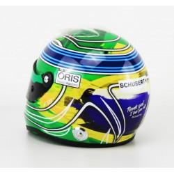 Casque 1/2 Felipe Massa F1 Abu Dhabi 2017 Final Race Schuberth 9087001229