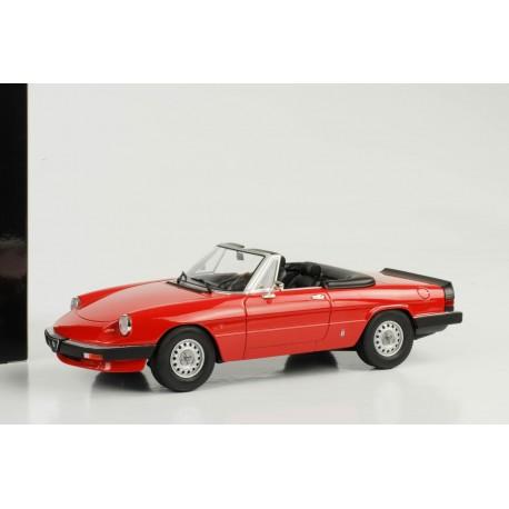 Alfa Romeo Spider Serie Rouge KK Scale Models R - Alfa romeo scale models