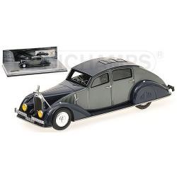 Voisin C25 Aerodyne 1934 Grise Bleue Minichamps 437119160