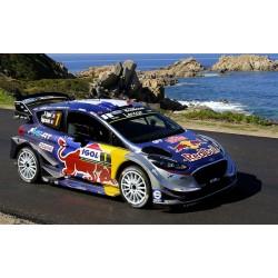 Ford Fiesta WRC 1 Tour de Corse 2018 Ogier Ingrassia IXO RAM674