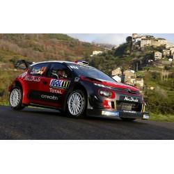 Citroen C3 WRC 11 Tour de Corse 2018 Loeb Elena IXO RAM672