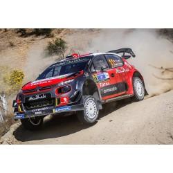 Citroen C3 WRC 11 Rallye du Mexique 2018 Loeb Elena IXO RAM671