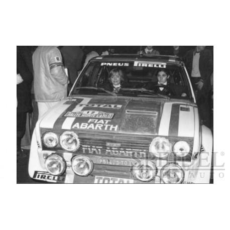 Fiat 131 Abarth 12 Rallye Monte Carlo 1979 Mouton Conconi IXO RAC052
