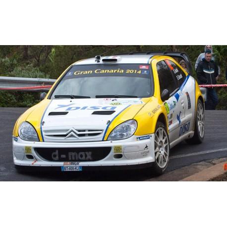 Citroen Xsara WRC 102 Rallye Islas Canarias 2014 Auriol Giraudet Sunstar SUN4475