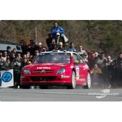 Citroen Xsara WRC 22 Rallye de Catalogne 2002 Bugalski Chiaroni Sunstar SUN4474
