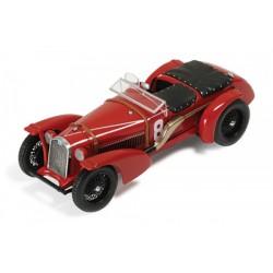 Alfa Romeo 8C 8 Victoire 24 Heures du Mans 1932 IXO LM1932