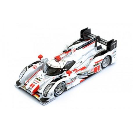 Audi R18 E-Tron Quattro 1 24 Heures du Mans 2013 IXO LMM243
