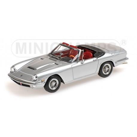 Maserati Mistral Spyder 1964 Silver Minichamps 437123431