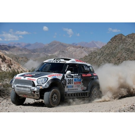 Mini All 4 Racing 301 Rallye Dakar 2014 Al-Attiyah Cruz IXO RAM578P