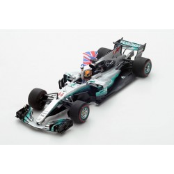 Mercedes AMG Petronas W08 EQ Power+ F1 World Champion Mexique 2017 Lewis Hamilton Spark 18S312