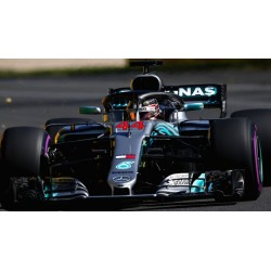 Mercedes F1 W09 EQ Power+ F1 Azerbaijan 2018 Lewis Hamilton Spark S6052