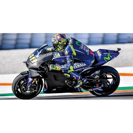 Yamaha YZR M1 Moto GP Valencia Test 2017 Valentino Rossi Minichamps 122183946