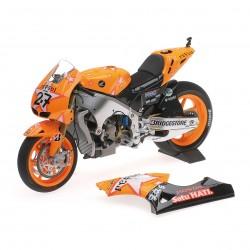 Honda RC212V Moto GP Aragon 2011 Casey stoner Minichamps 122111227