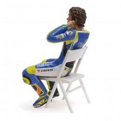 Figurine 1/12 Valentino Rossi Moto GP 2014 Checking the ear plugs Minichamps 312140046