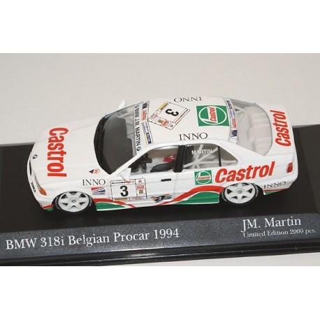 BMW 318I Castrol 3 Procar 1994 JM Martin Minichamps 494942303