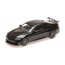 BMW M4 GTS 2016 Black Metallic with Grey wheels Minichamps 410025227