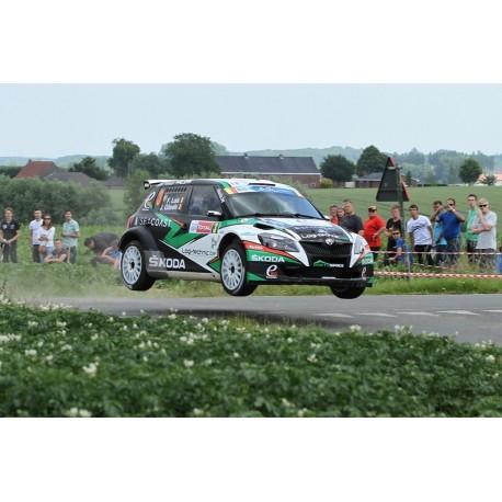 Skoda Fabia S2000 3 Rallye d'Ypres 2014 Loix Gitsels IXO RAM583