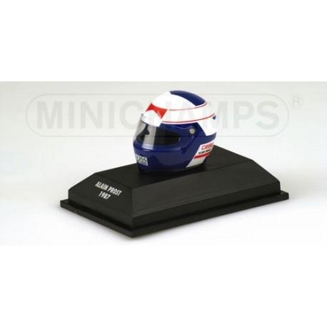 Casque 1/8 Alain Prost 1987 Minichamps 517380701