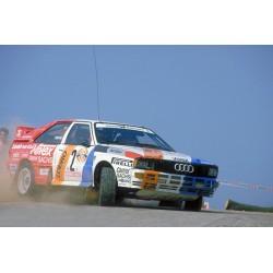 Audi Quattro 2 Hunsrueck Rally 1984 Demuth Lux IXO 18RMC010