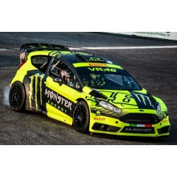 Ford Fiesta RS WRC 46 Monza Rally 2015 Valentino Rossi IXO 18RMC015