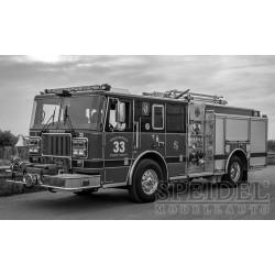 Seagrave Firetruck Pompier IXO TRF003