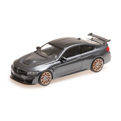 BMW M4 GTS 2016 Grey Metallic with Orange wheels Minichamps 410025228