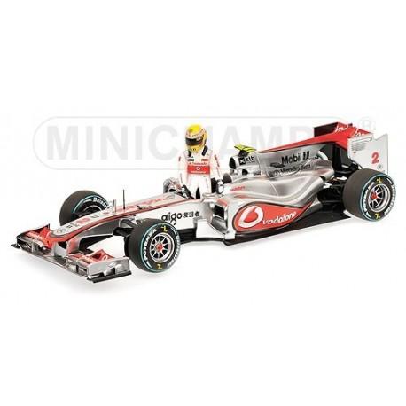 McLaren Mercedes MP4/25 Canada 2010 Lewis Hamilton Minichamps 530101822