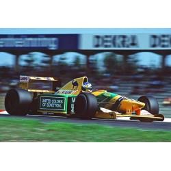 Benetton Ford B192 F1 Allemagne 1992 Michael Schumacher Minichamps 110920099